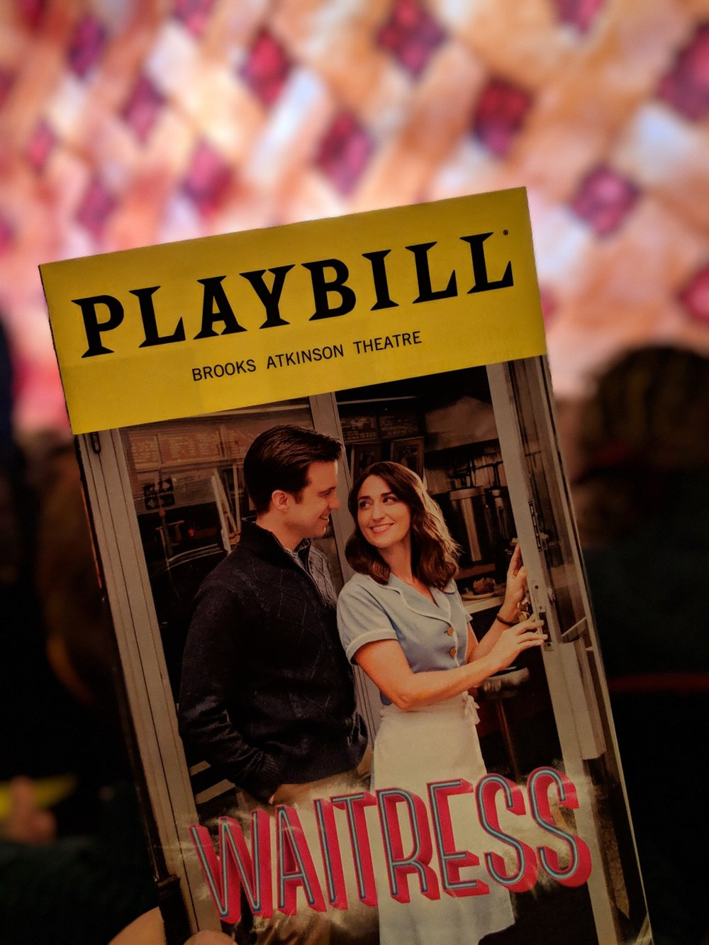 We couldn't go to NYC and not see a Broadway show!  Waitress  was a last minute decision thanks to  TKTS  - we got them at their discounted ticket booth in Time Square. If you don't mind waiting until day of to book your tickets, I'd HIGHLY recommend TKTS!