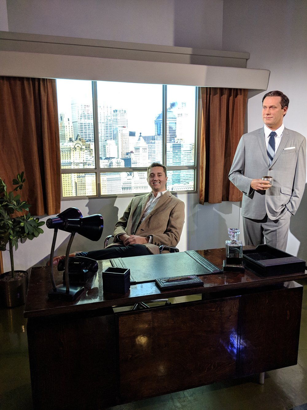 Mad Men display at Madame Tussauds