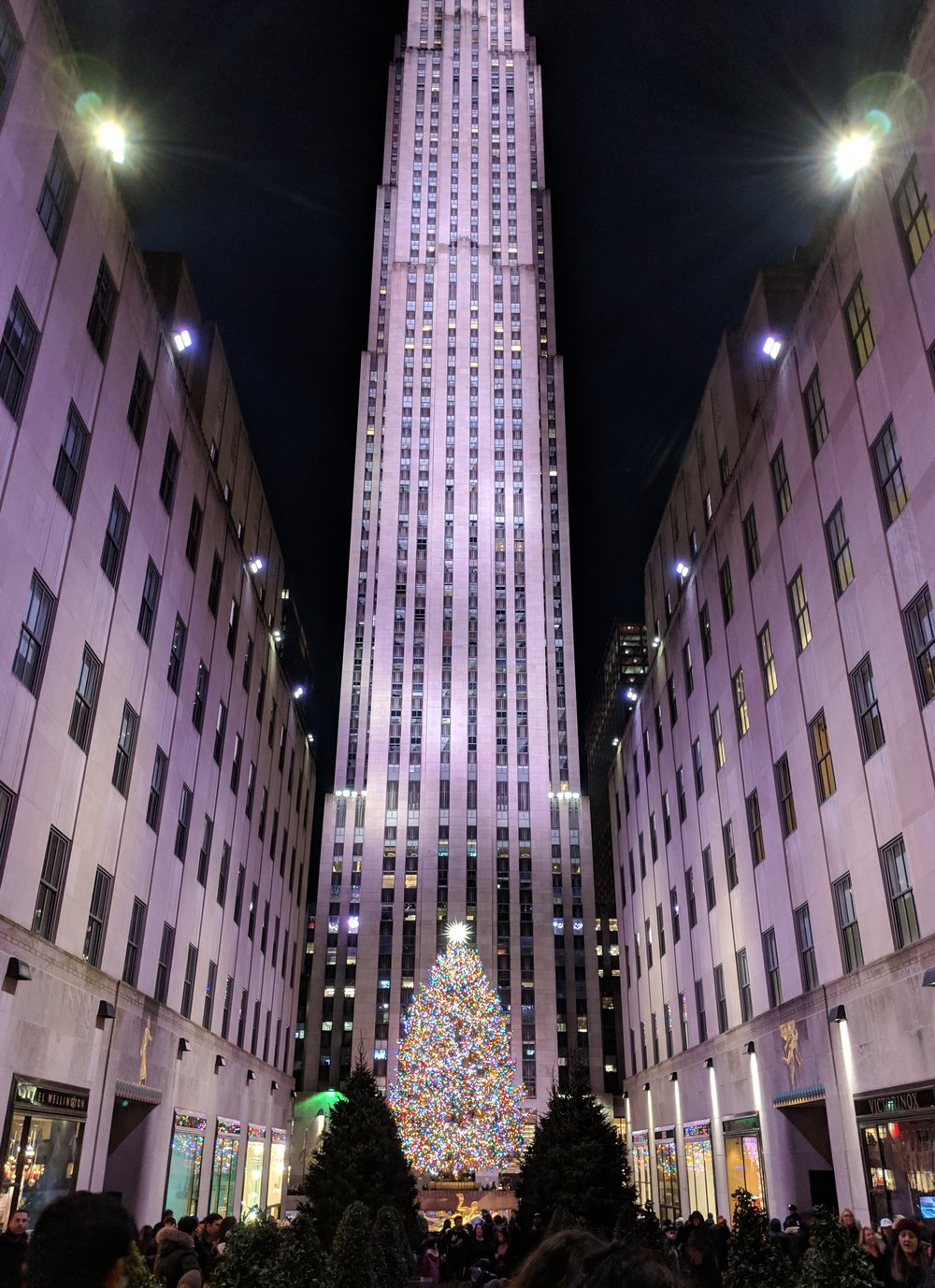 And last but not least, Rockefeller Plaza!