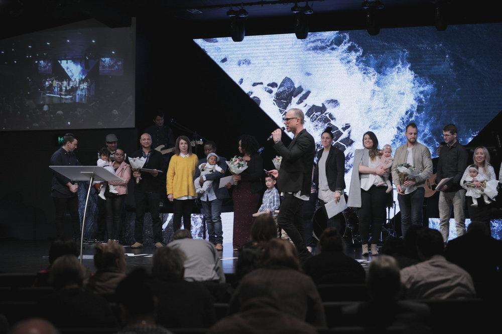 Our Senior Pastors -