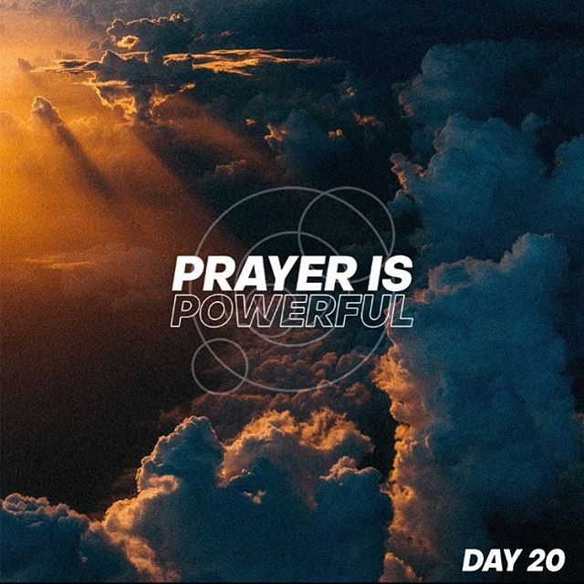 Prayer is powerful! Remember that the power of our prayers is not based on us but on the God that we pray too, so pray some bold prayers today!