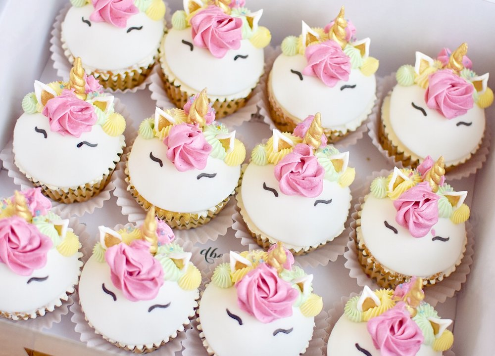 STANDARD SIZE FONDANT TOPPER CUPCAKES  From $5.00 each  Minimum Order Quantity : 12 Per Flavour