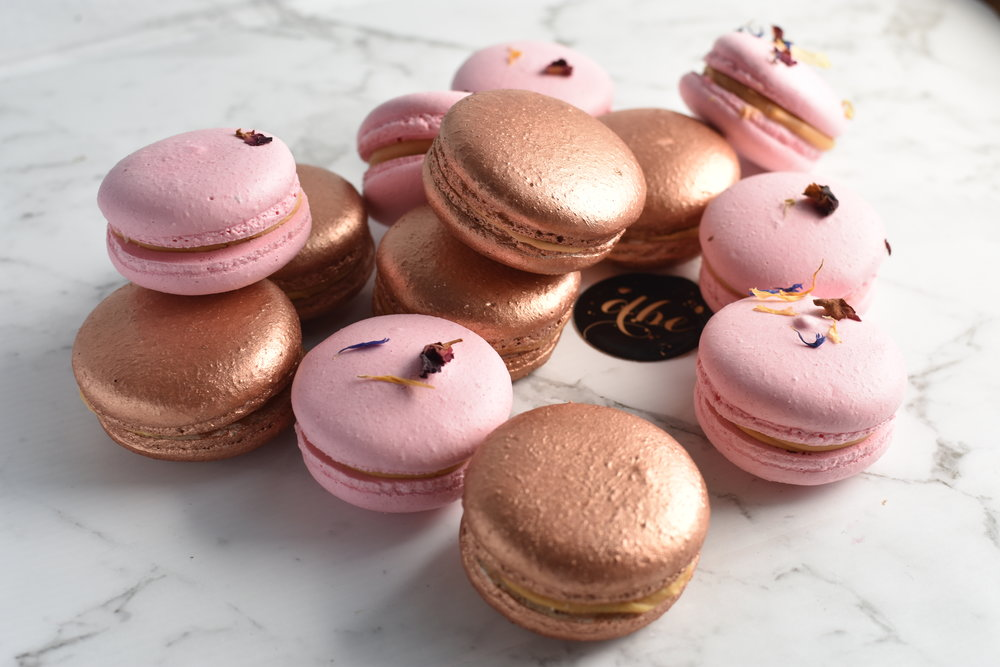 MACARONS  From $2.50 each  Minimum Order Quantity: 20