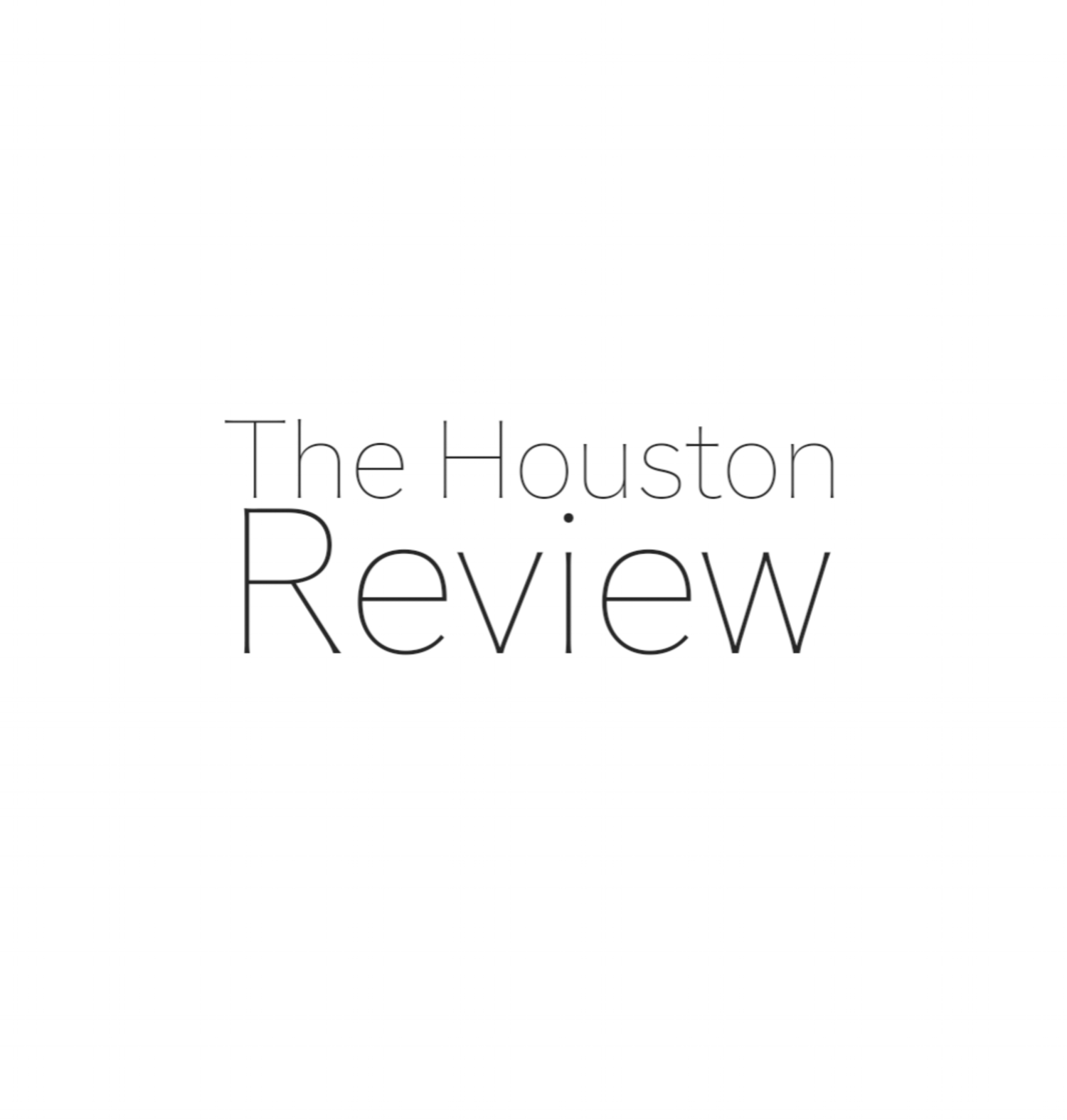 The Houston Review