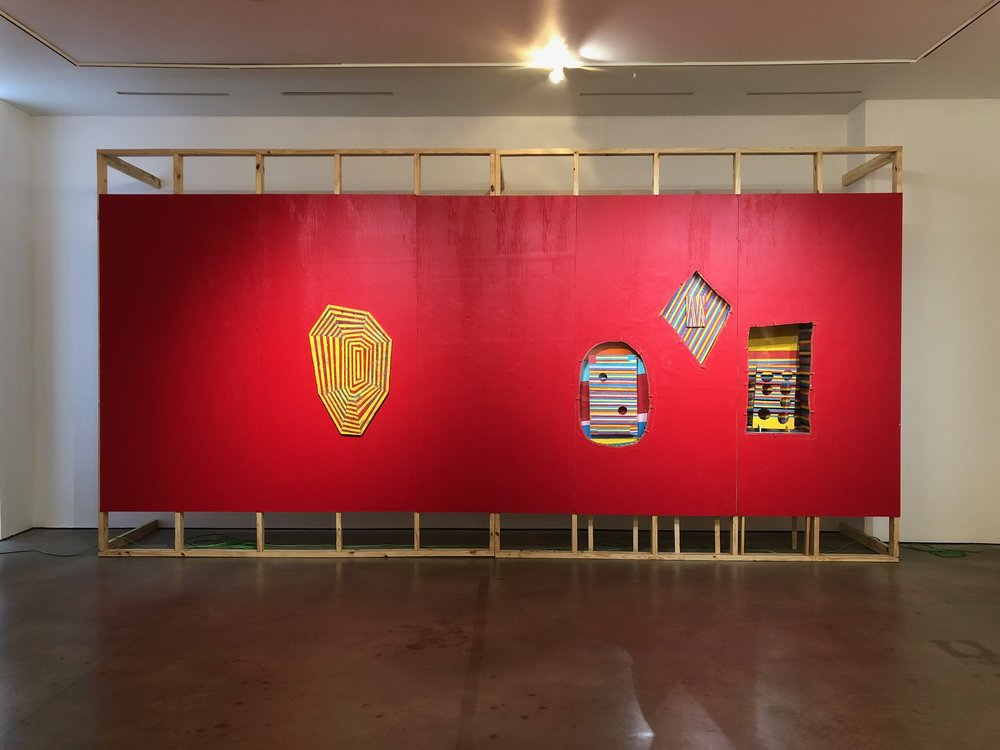 Benjamin Terry,  Peanut Butter and Caviar,  installation view, Guerrero-Projects