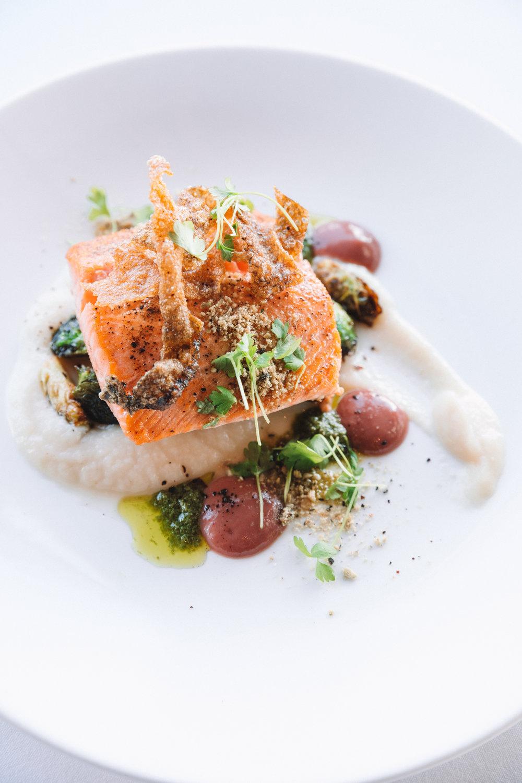 Braised New Zealand Salmon