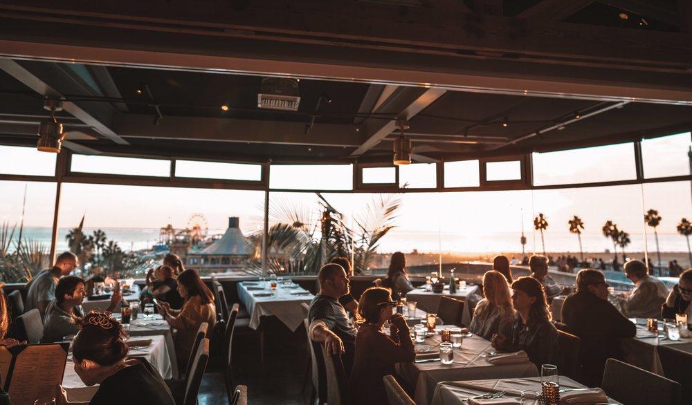The Lobster Restaurant Santa Monica at Sunset