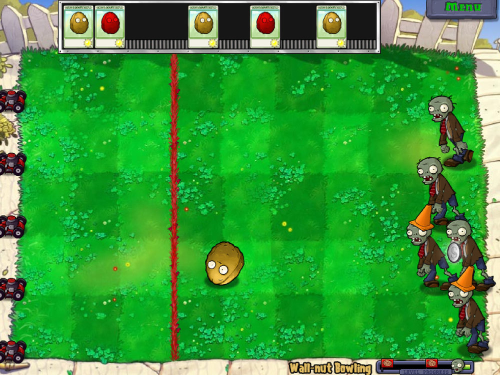 Image from the original Plants Vs. Zombies from ©PopCap Games