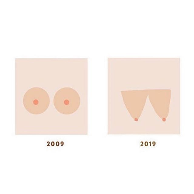 #justsayin We're keeping it real over here... with some breastfeeding humor 😜😝🤪 #10yearchallenge #doula #doulatog #doulaagency #pnwdoula #pnwdoulas #breastfeeding #education