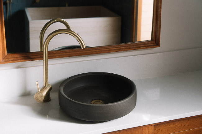 Lindsey Wherrett bathroom basin
