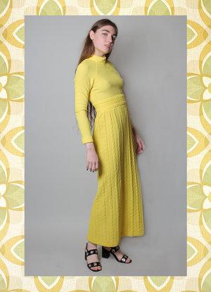 05eced63305 70s mock neck sweater dress