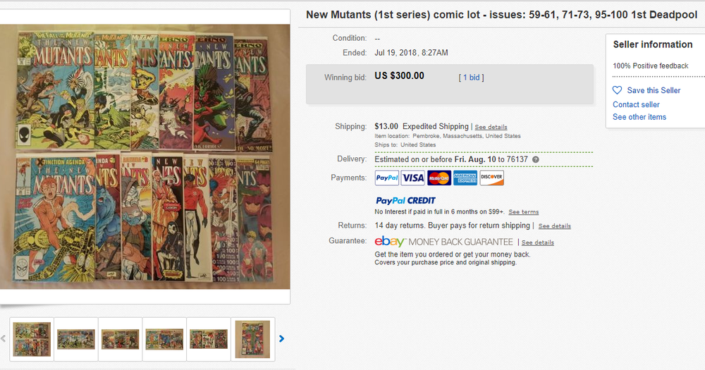 1d22aa67cdc Finding Hidden Gems on eBay (Part 1)  Comic Book Lots — Writes Josh