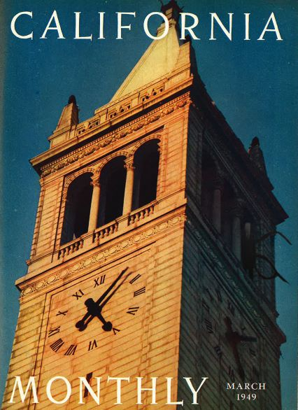 I Photoshopped  Slender Man  into an old image of the UC Berkeley Campanile for  California mag's social media channels .