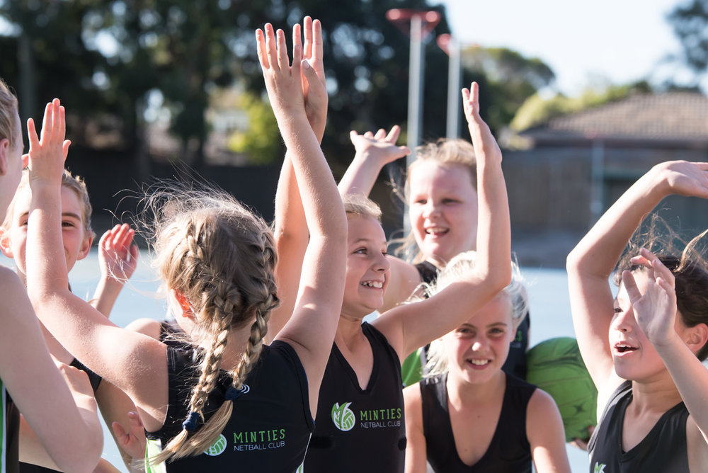 Minties Netball Club in Bayside Melbourne