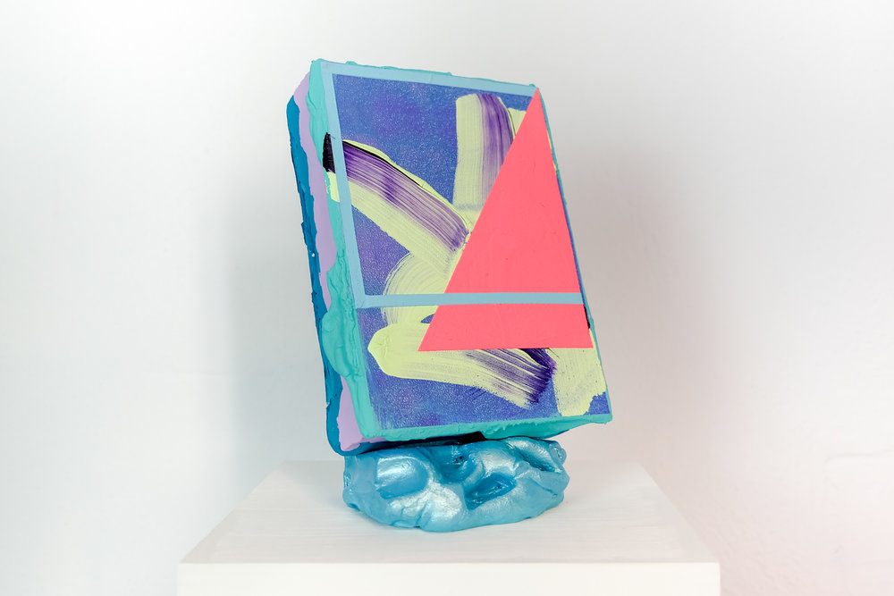 Lisa Denyer   berlin based beauty, shares her supremely vivid and textuAL WORLD of painting vs sculpture.