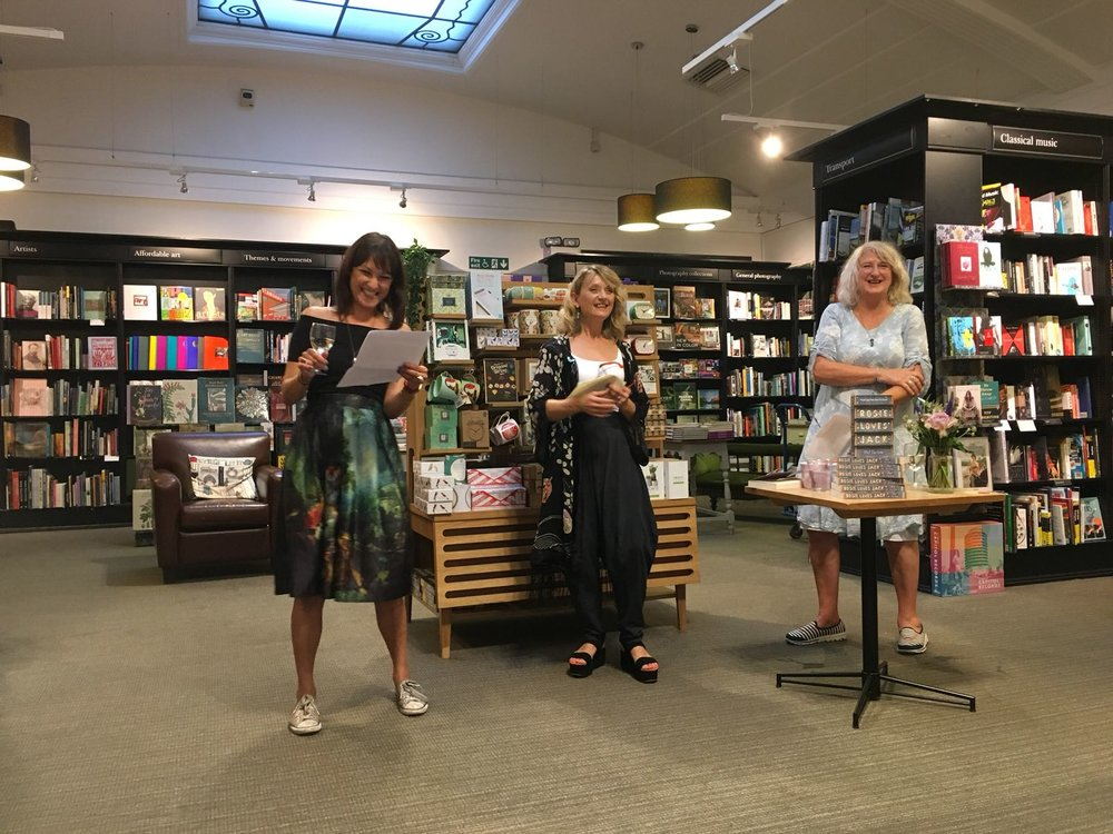 An evening at Waterstones… - Rosie loves jack launch