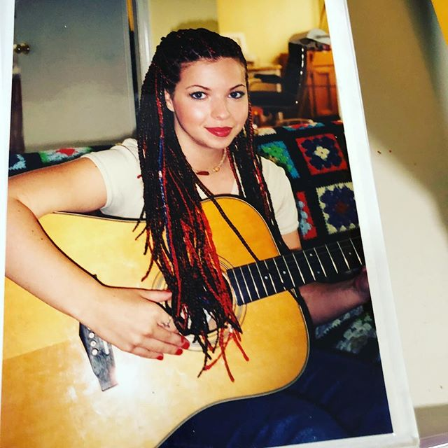 Once upon a time. Guitar was my first instrument. I think I was 15?