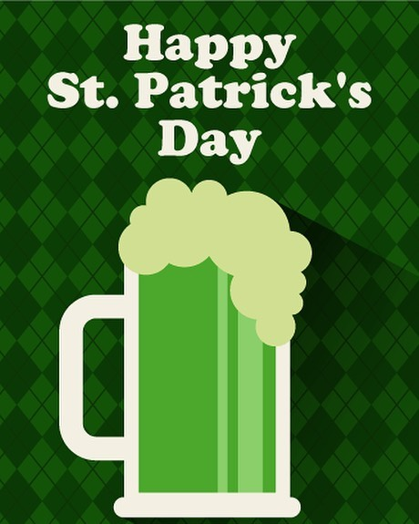 Happy St. Patrick's Day!! And no, for the love of green beer, he didn't try to annihilate druids. People just can't imagine that people actually converted freely so they have to rewrite history with their imagination. 🙄😜Have a great day!