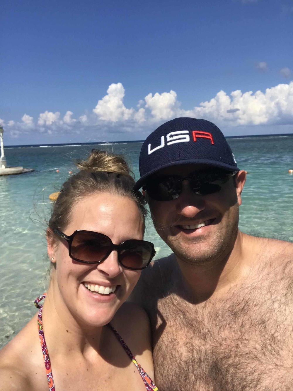 Jamaica Water Selfie.JPG