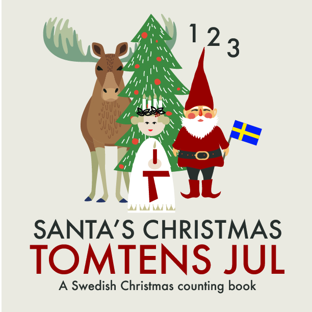 Want your kids to count from 1-15 in Swedish and English this Christmas?
