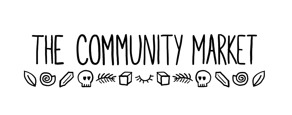 The Community Market - The Community Market is a collection of artists and creators offering handmade goods and services as well as hosting events and workshops.Based in Toronto, their aim is to bridge gaps in our neighborhoods and communities via the arts.IG: @communitymarkettorontoFB: The Community Market Toronto