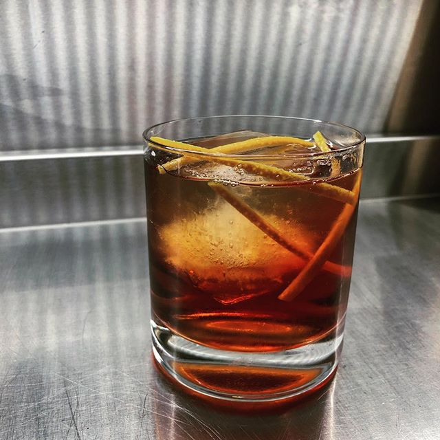 """Our """"Not Negroni"""" is a twist on the classic one, combining Aperol and Campari for a smoother flavour and stirred with coffee beans for the aroma and a slight hint of coffee to the taste and using Aquavit for a Scandinavian twist. —— Linie Aquavit Antica Formula Sweet Vermouth Campari Aperol Stirred with coffee beans —— #artsoncocktailbar #nostrarestaurant #truespirit #ttcocktails #makeitworldclass #justcocktails #LTDcocktails #cocktailsforyou #worldsbestbars #reykjavik #iceland #cocktail #cocktails #bartender #bartending #bar #drinks #mixology #mixologist #vodka #gin #rum #whiskey #tequila #wine #beer #drinkstagram"""