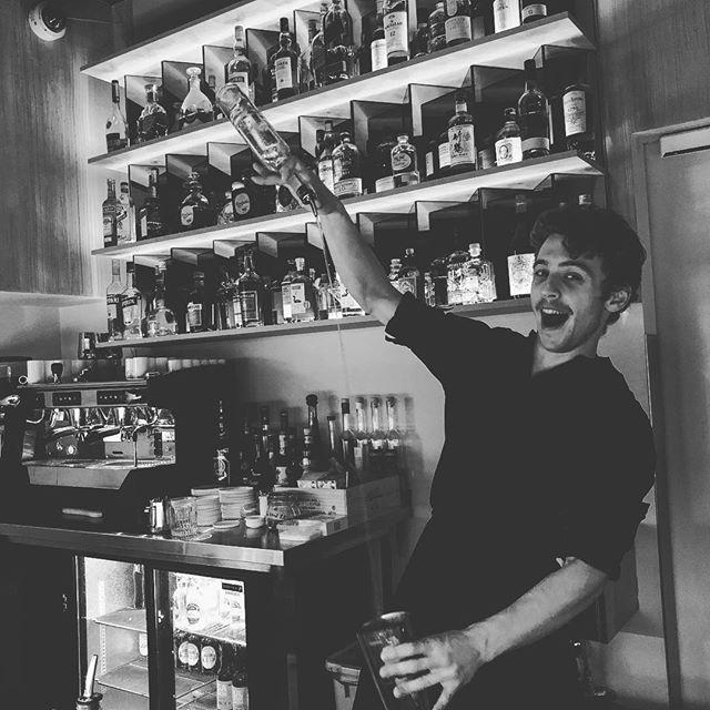This is Viktor, he is not our head bartender... but he is nice. —— #artsoncocktailbar #nostrarestaurant #truespirit #ttcocktails #makeitworldclass #justcocktails #LTDcocktails #cocktailsforyou #worldsbestbars #reykjavik #iceland #cocktail #cocktails #bartender #bartending #bar #drinks #mixology #mixologist #vodka #gin #rum #whiskey #tequila #wine #beer #drinkstagram #worldclassis