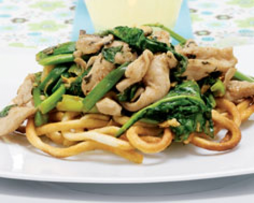Asian Chicken on Noodle Nests.jpg