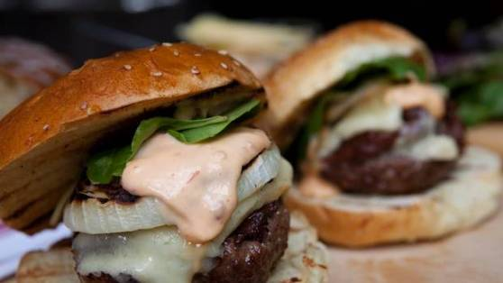 Perfect burgers with spiked aioli.JPG