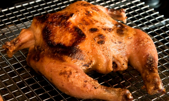 Cornish hens with apricot mustard sauce .jpg