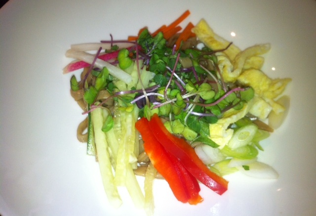 Hot day, cold buckwheat noodle salad.jpg
