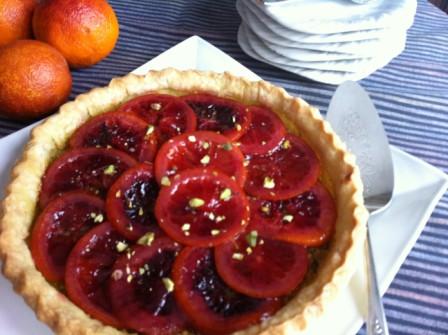 Blood Orange and Pistachio Tart .jpg