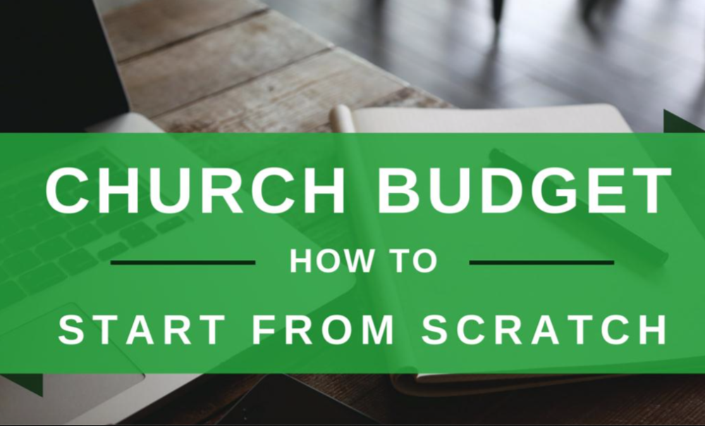 - Your FREE resource to build your Church Budget!