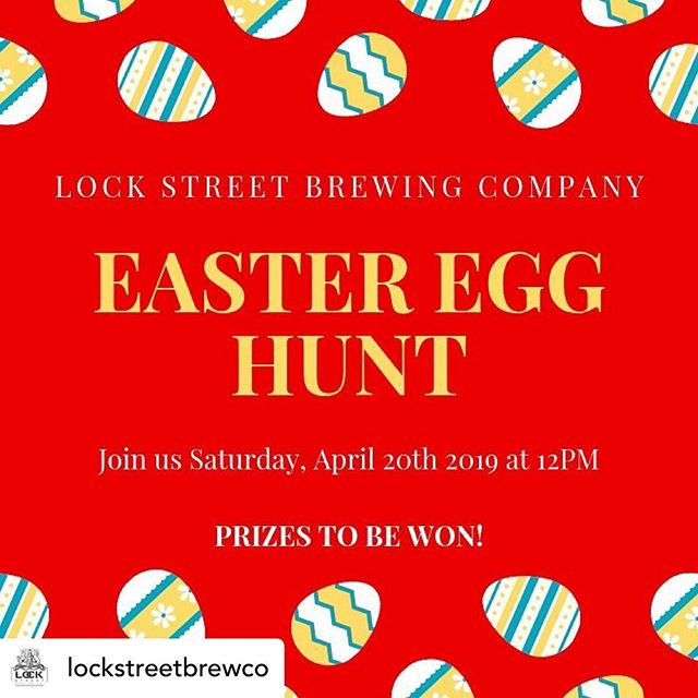 Attention Kids (And parents), Dogs, and Craft Beer lovers!!!!!!! Posted @withrepost • @lockstreetbrewco Tis the season for hunting eggs! . . Join us on Saturday, April 20th at NOON to hunt around the brewery and find some fun surprises!. . We'll have prizes for both kiddos, adults, AND dog treats, so feel free to bring the whole family! They'll be available until all the eggs are found! . . . . #ontariocraftbeer #portdalhousie #ourhomestc #dogfriendlyniagara #dogfriendlybrewery #familyfriendlybrewery #easteregghunt