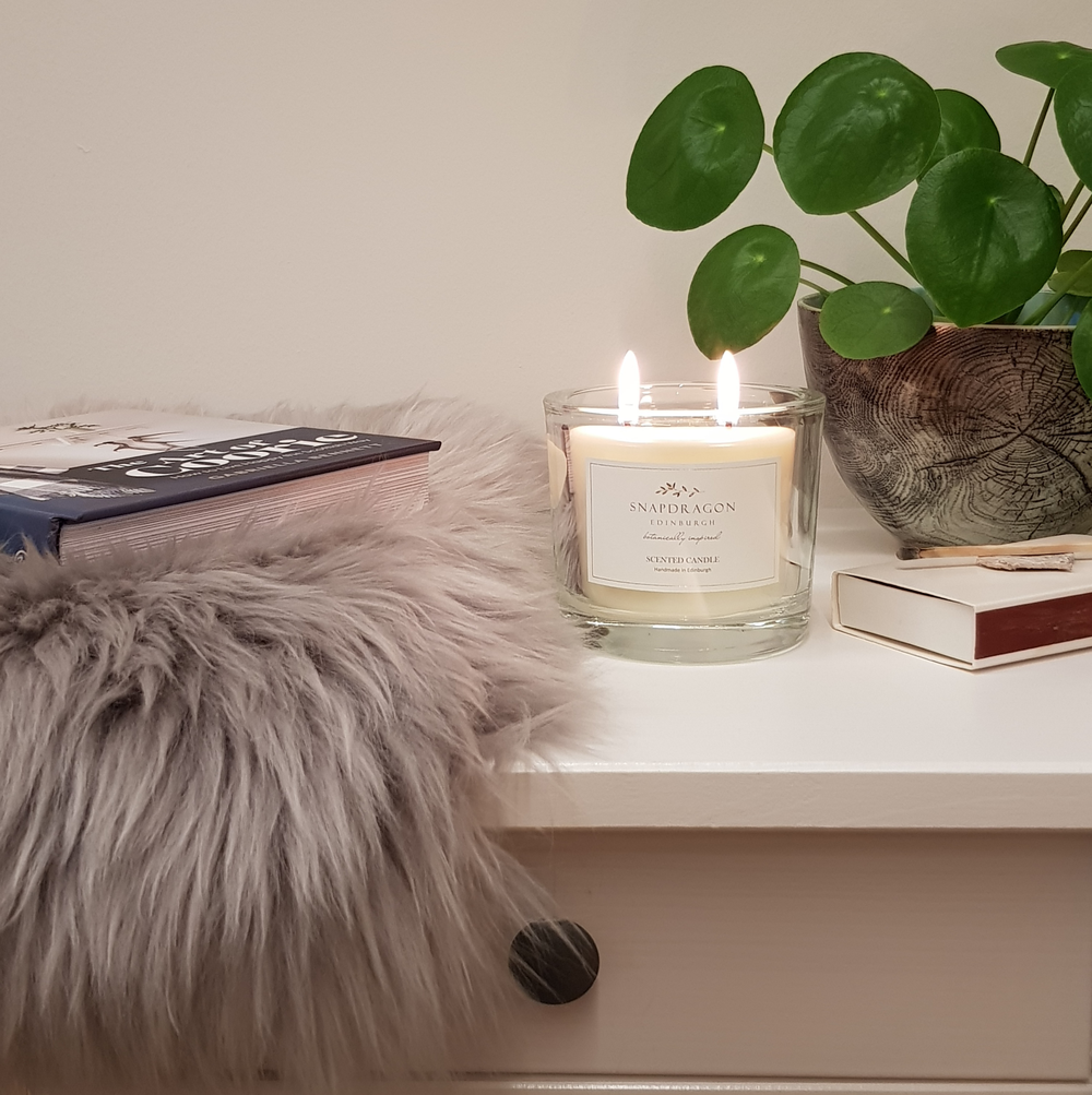 Artisan Large Scented Candle - by snapdragon. £22.50