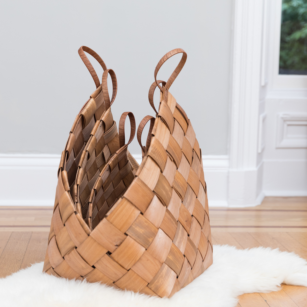 WEAVE - set of 3 baskets - from I am nomad. £85