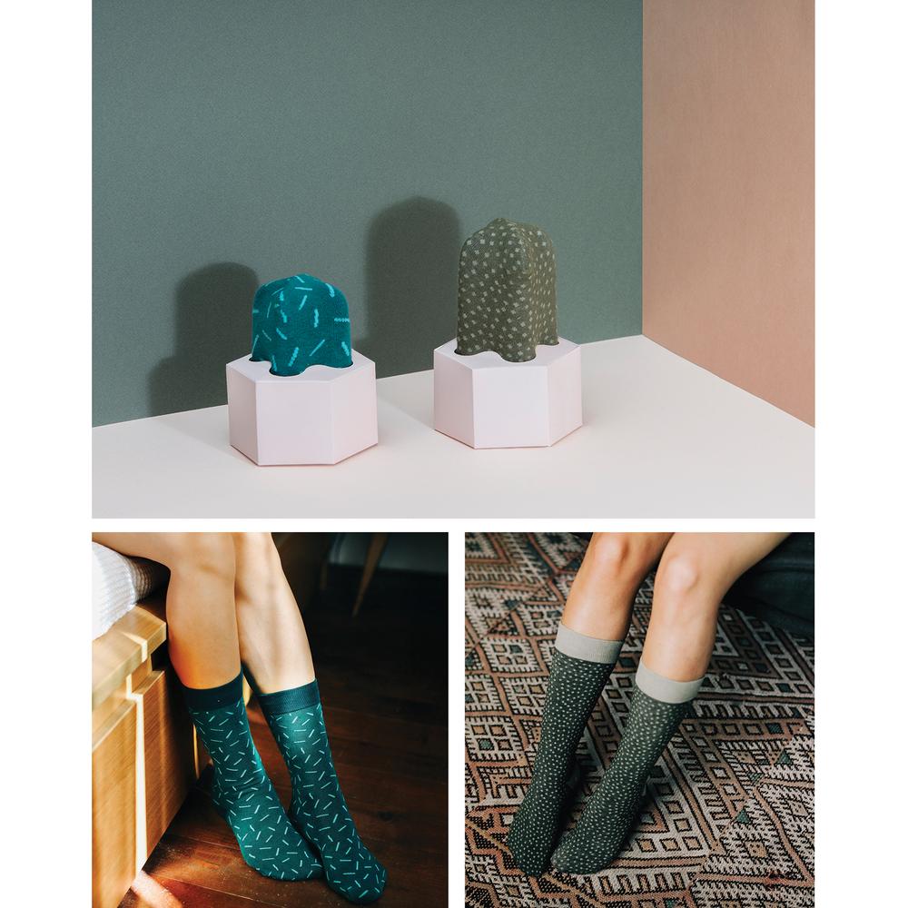 Cactus Socks - by doiy. £11.95