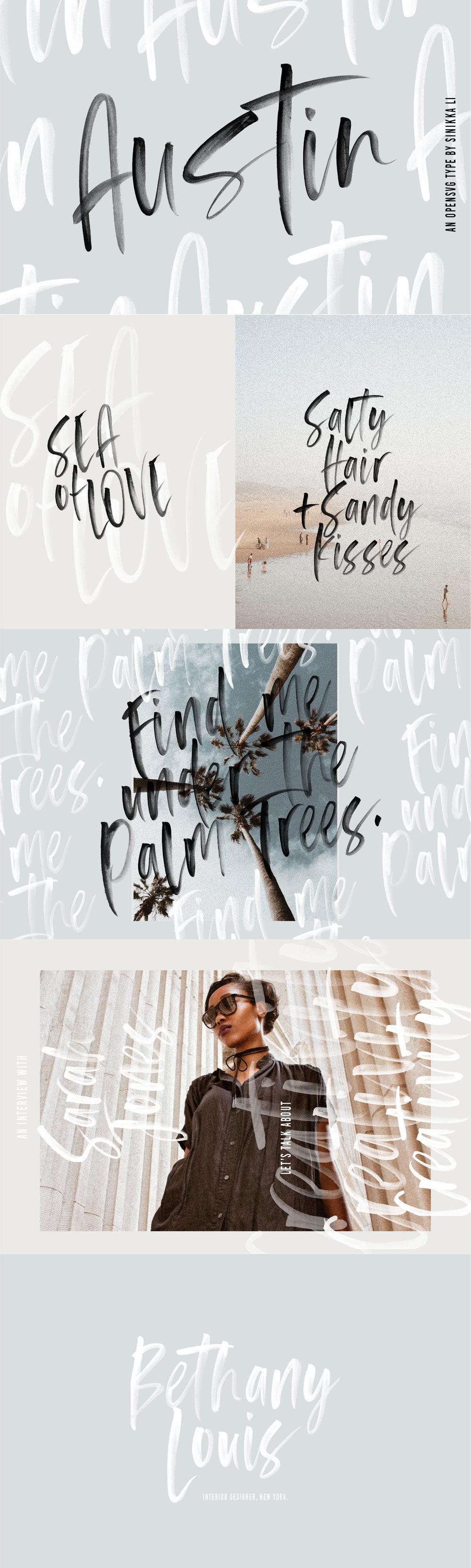 Austin SVG Font