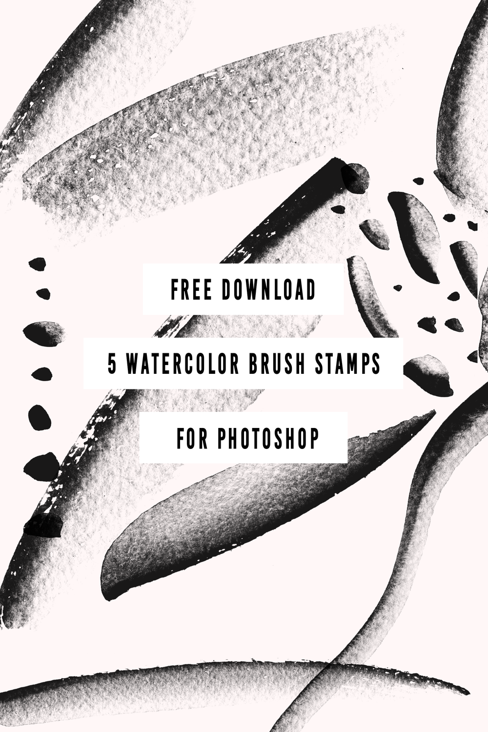 Free Watercolour Brush Stamps
