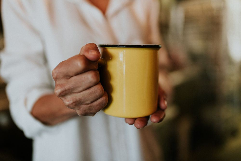 Tea or coffee? - I am a coffee lover, just the good old-fashioned brewed coffee.