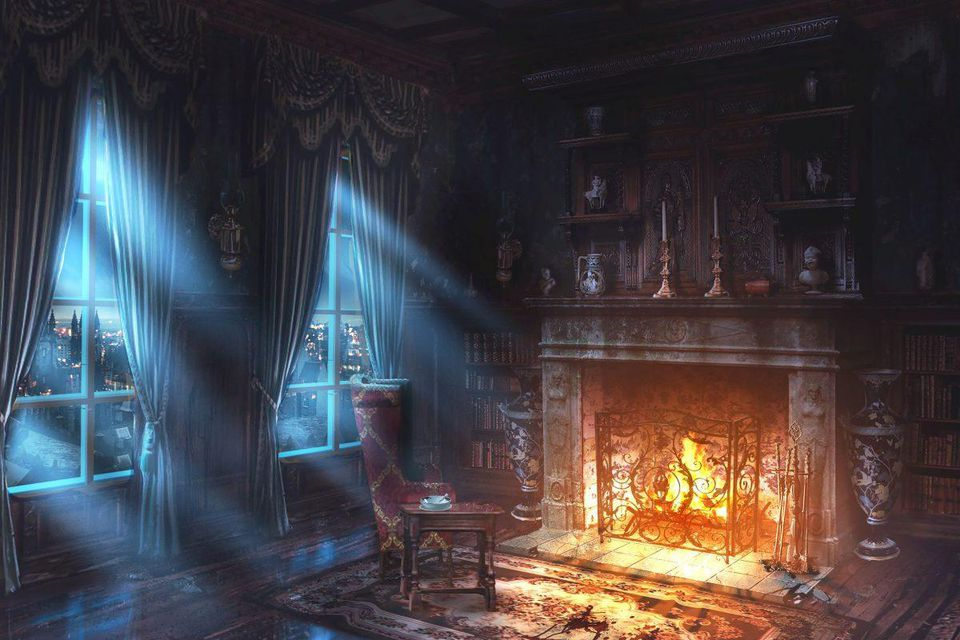 Art from 'Chained: A Victorian Nightmare' - Aaron Sims Creative