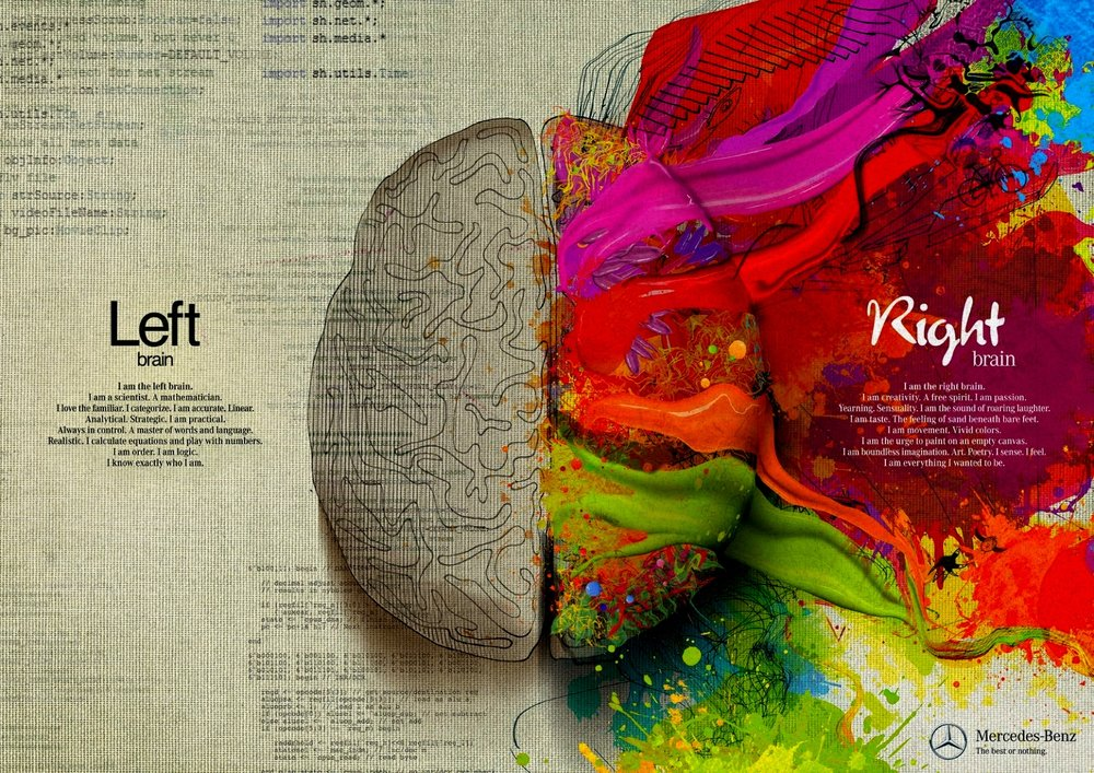 TL;DR - It's a total myth that people are either left-brained or right-brained. You use both sides of your brain all the time, and your personality isn't influenced by a hemispheric preference.