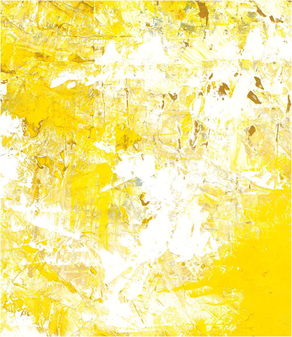 painted yoga yellow
