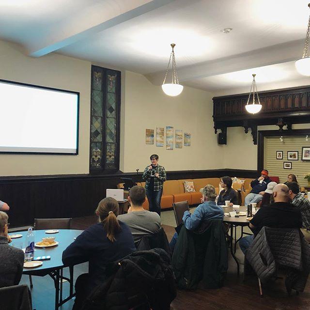 Speaking @ Trinity UMC Lafayette (1/19)
