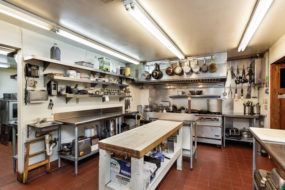 Commercial Kitchen in the Cookhouse
