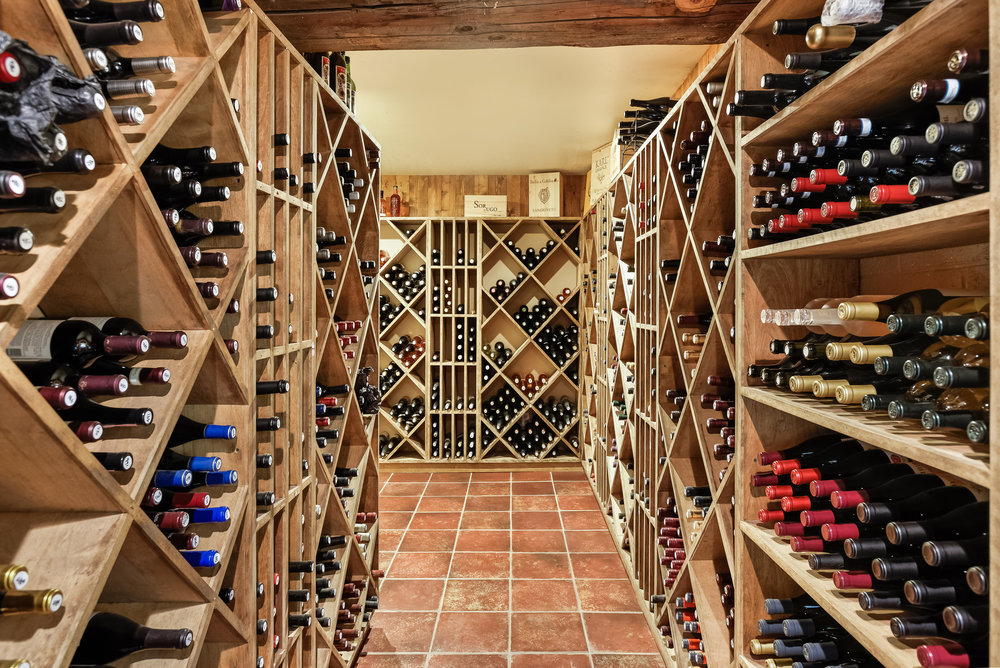 Wine Cellar under Oak Elk Lodge