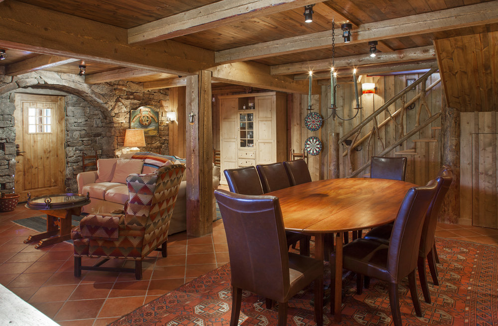 Fieldstone Room/Dining Area