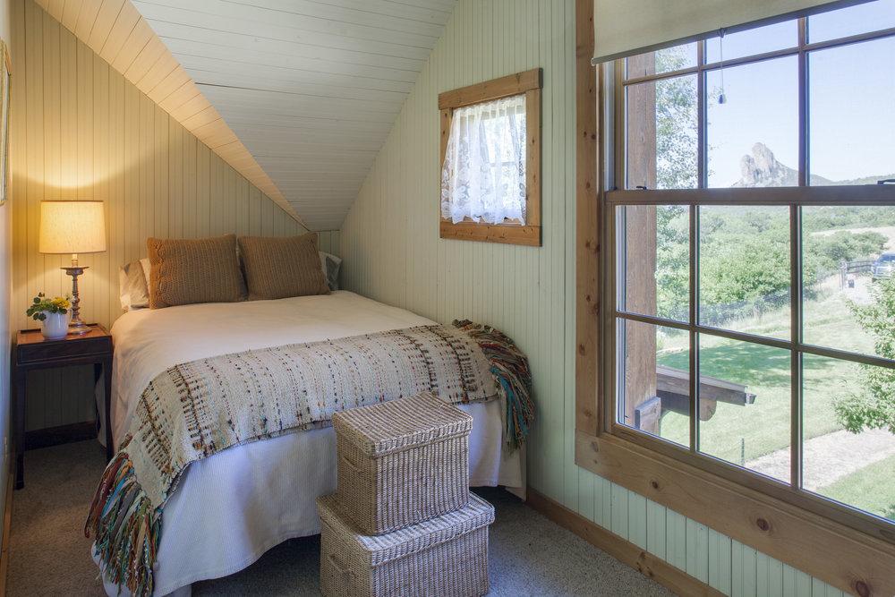 Needle Rock Bedroom Located Upstairs