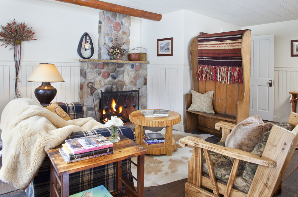 Mountain House Cozy Sitting Room