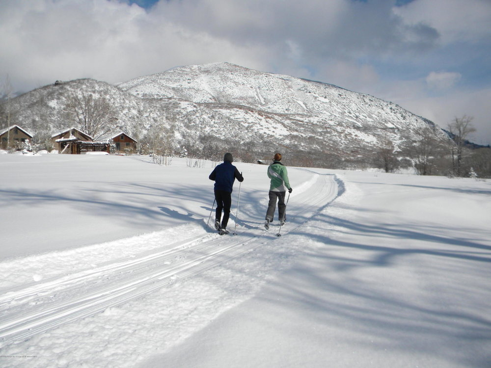 Cross Country Skiing on the Ranch